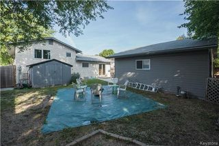 Photo 20: 39 McMullen Crescent in Winnipeg: Mission Gardens Residential for sale (3K)  : MLS®# 1723858