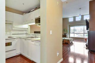 "Photo 2: 306 19528 FRASER Highway in Surrey: Cloverdale BC Condo for sale in ""FAIRMONT"" (Cloverdale)  : MLS®# R2219963"