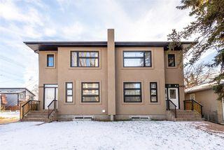 Main Photo: 10619 65 Avenue in Edmonton: Zone 15 House Half Duplex for sale : MLS®# E4136039