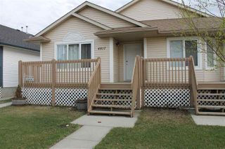 Photo 1: 4817 54 Avenue: Wetaskiwin House Half Duplex for sale : MLS®# E4198184