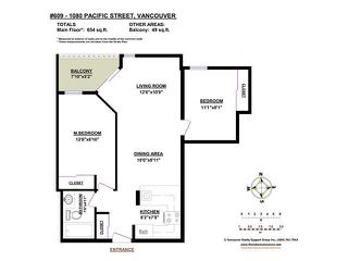 Photo 9: 609 1080 PACIFIC Street in Vancouver: West End VW Condo for sale (Vancouver West)  : MLS®# V1084750