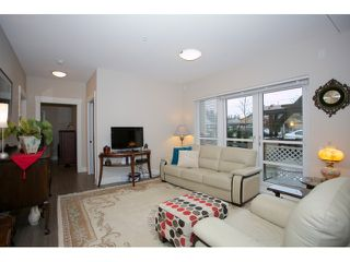 "Photo 3: 108 5811 177B Street in Surrey: Cloverdale BC Condo for sale in ""LATIS"" (Cloverdale)  : MLS®# R2023487"
