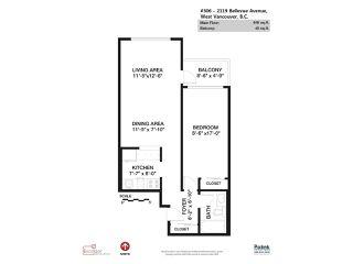 "Photo 16: 306 2119 BELLEVUE Avenue in West Vancouver: Dundarave Condo for sale in ""BELLEVUE GARDENS"" : MLS®# R2048496"