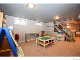 Photo 16: 272 Scotia Street in Winnipeg: West Kildonan / Garden City Residential for sale (North West Winnipeg)  : MLS®# 1613575