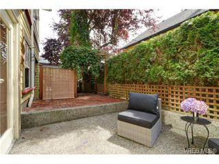Photo 19: C 142 St. Lawrence St in VICTORIA: Vi James Bay Row/Townhouse for sale (Victoria)  : MLS®# 738005