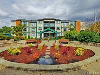 Photo 1: 206 894 Vernon Ave in VICTORIA: SE Swan Lake Condo for sale (Saanich East)  : MLS®# 744994