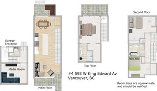 """Photo 20: 4 593 W KING EDWARD Avenue in Vancouver: Cambie Townhouse for sale in """"KING EDWARD GREEN"""" (Vancouver West)  : MLS®# R2140920"""
