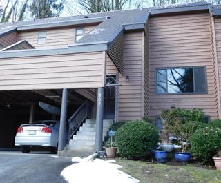 "Photo 1: 307 CARDIFF Way in Port Moody: College Park PM Townhouse for sale in ""EASTHILL"" : MLS®# R2144501"