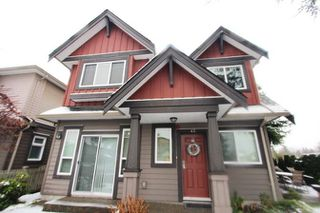 Photo 1: 42 9699 SILLS Avenue in Richmond: McLennan North Townhouse for sale : MLS®# R2229082