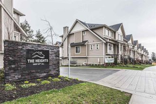 "Photo 1: 32 19097 64 Avenue in Surrey: Cloverdale BC Townhouse for sale in ""The Heights"" (Cloverdale)  : MLS®# R2231144"