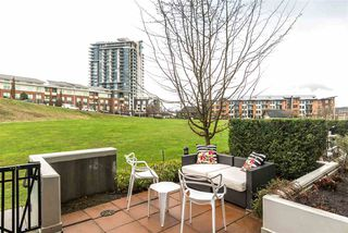 """Photo 2: 106 245 BROOKES Street in New Westminster: Queensborough Condo for sale in """"DUO AT PORT ROYAL"""" : MLS®# R2232821"""