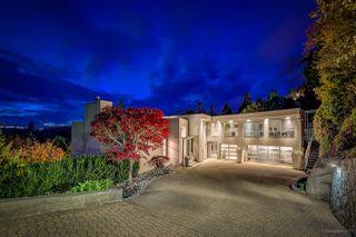 Photo 1: 4345 ROCKRIDGE ROAD in West Vancouver: Rockridge House for sale : MLS®# R2221844
