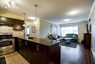 "Photo 5: 403 17769 57 Avenue in Surrey: Cloverdale BC Condo for sale in ""Clover Down Estates"" (Cloverdale)  : MLS®# R2261769"