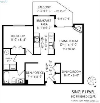 Photo 20: 307 898 Vernon Ave in VICTORIA: SE Swan Lake Condo for sale (Saanich East)  : MLS®# 791894