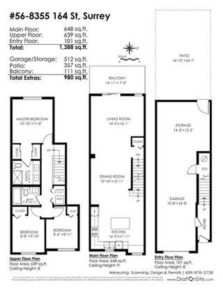 "Photo 20: 56 8355 164 Street in Surrey: Fleetwood Tynehead Townhouse for sale in ""SILVERWOOD"" : MLS®# R2286269"