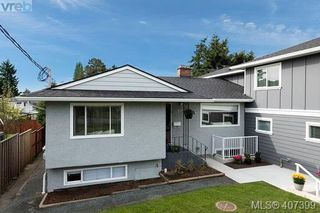 Photo 1: 593 Agnes Street in VICTORIA: SW Glanford Half Duplex for sale (Saanich West)  : MLS®# 407399
