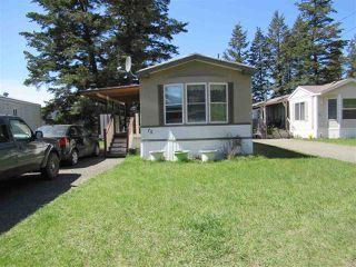 Main Photo: 75 770 11TH Avenue in Williams Lake: Williams Lake - City Manufactured Home for sale (Williams Lake (Zone 27))  : MLS®# R2368538