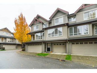 "Photo 1: 42 16789 60 Avenue in Surrey: Cloverdale BC Townhouse for sale in ""Laredo"" (Cloverdale)  : MLS®# R2414492"