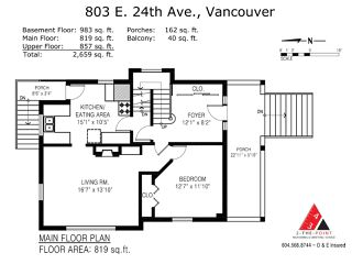 Photo 17: 803 E 24TH Avenue in Vancouver: Fraser VE House for sale (Vancouver East)  : MLS®# R2477891