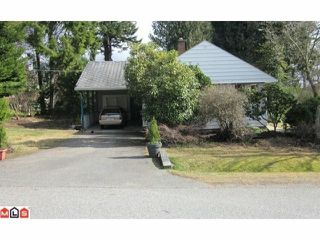 Photo 1: 1388 131ST Street in Surrey: Crescent Bch Ocean Pk. House for sale (South Surrey White Rock)  : MLS®# F1107477