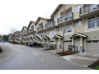"""Main Photo: 11 245 FRANCIS Way in New Westminster: Fraserview NW Townhouse for sale in """"GLENBROOK AT VICTORIA HILL"""" : MLS®# V879188"""