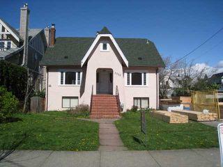 "Main Photo: 2555 W 8TH Avenue in Vancouver: Kitsilano House for sale in ""KITSILANO"" (Vancouver West)  : MLS®# V881130"