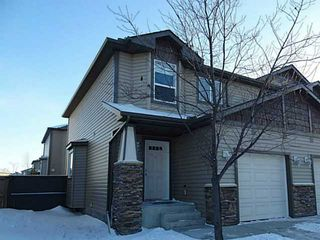 Photo 1: 76 CIMARRON Trail: Okotoks Townhouse for sale : MLS®# C3593967