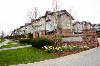 """Main Photo: 151 2450 161A Street in Surrey: Grandview Surrey Townhouse for sale in """"GLENMORE"""" (South Surrey White Rock)  : MLS®# F1407603"""