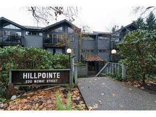 """Photo 1: 312 230 MOWAT Street in New Westminster: Uptown NW Condo for sale in """"HILL POINTE"""" : MLS®# V1096327"""