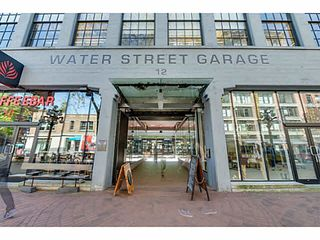"Photo 18: 604 12 WATER Street in Vancouver: Downtown VW Condo for sale in ""WATER STREET GARAGE"" (Vancouver West)  : MLS®# V1119497"