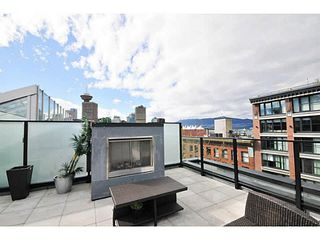 "Photo 13: 604 12 WATER Street in Vancouver: Downtown VW Condo for sale in ""WATER STREET GARAGE"" (Vancouver West)  : MLS®# V1119497"