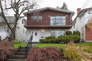 Main Photo: 1435 HAMILTON Street in New Westminster: West End NW House for sale : MLS®# R2325196