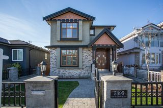 Main Photo: 5395 INVERNESS Street in Vancouver: Knight House for sale (Vancouver East)  : MLS®# R2336072