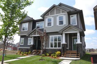 Photo 1: 219 GRIESBACH Road in Edmonton: Zone 27 House Half Duplex for sale : MLS®# E4142357
