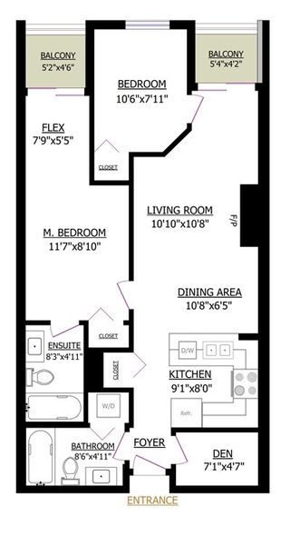 Photo 15: PH9 868 KINGSWAY in Vancouver: Fraser VE Condo for sale (Vancouver East)  : MLS®# R2440498