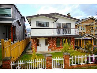 Photo 1: 4211 ETON Street in Burnaby: Vancouver Heights House for sale (Burnaby North)  : MLS®# V1047500