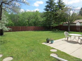 Photo 14: 95 Lismer Crescent in WINNIPEG: Charleswood Residential for sale (South Winnipeg)  : MLS®# 1414652