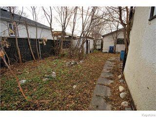 Photo 11: 1550 Ross Avenue West in WINNIPEG: Brooklands / Weston Residential for sale (West Winnipeg)  : MLS®# 1529899