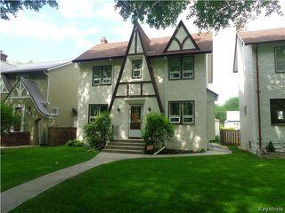 Photo 1: 295 Queenston Street in Winnipeg: River Heights / Tuxedo / Linden Woods Residential for sale (South Winnipeg)  : MLS®# 1615992