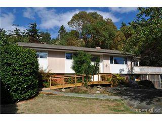 Photo 1: 4765 Cordova Bay Rd in VICTORIA: SE Cordova Bay House for sale (Saanich East)  : MLS®# 737880