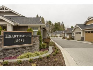"Photo 1: 2 15989 MOUNTAIN VIEW Drive in Surrey: Grandview Surrey Townhouse for sale in ""HEARTHSTONE IN THE PARK"" (South Surrey White Rock)  : MLS®# R2163450"