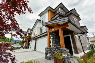 "Photo 1: 24 46570 MACKEN Avenue in Chilliwack: Chilliwack N Yale-Well Townhouse for sale in ""Parkside Place"" : MLS®# R2318038"