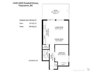 """Photo 18: 105 1819 PENDRELL Street in Vancouver: West End VW Condo for sale in """"PENDRELL PLACE"""" (Vancouver West)  : MLS®# R2477357"""