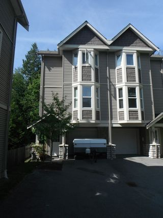 "Photo 1: #20 33321 GEORGE FERGUSON WAY in ABBOTSFORD: Central Abbotsford Townhouse for rent in ""CEDAR LANE"" (Abbotsford)"