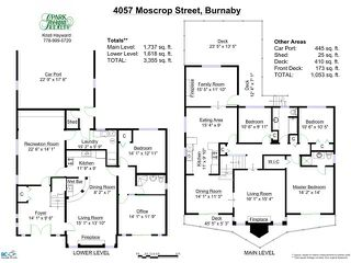 Photo 20: 4057 MOSCROP Street in Burnaby: Burnaby Hospital House for sale (Burnaby South)  : MLS®# V1058303