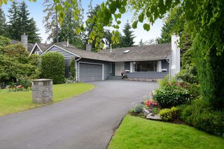 Main Photo: 1160 TALL TREE Lane in North Vancouver: Capilano NV House for sale : MLS®# V1071968