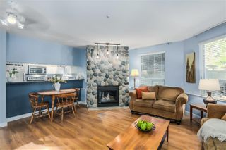 """Photo 1: 101 8430 JELLICOE Street in Vancouver: Fraserview VE Condo for sale in """"THE BOARDWALK"""" (Vancouver East)  : MLS®# R2005014"""