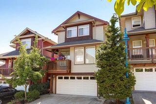 "Photo 1: 19 2287 ARGUE Street in Port Coquitlam: Citadel PQ Townhouse for sale in ""PIER 3"" : MLS®# R2191574"