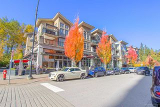 "Photo 2: 419 101 MORRISSEY Road in Port Moody: Port Moody Centre Condo for sale in ""Libra in Suterbrook Village"" : MLS®# R2317157"