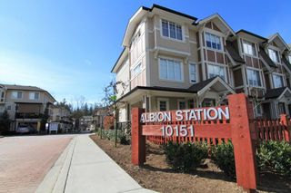 "Main Photo: 103 10151 240 Street in Maple Ridge: Albion Townhouse for sale in ""ALBION STATION"" : MLS®# R2353105"